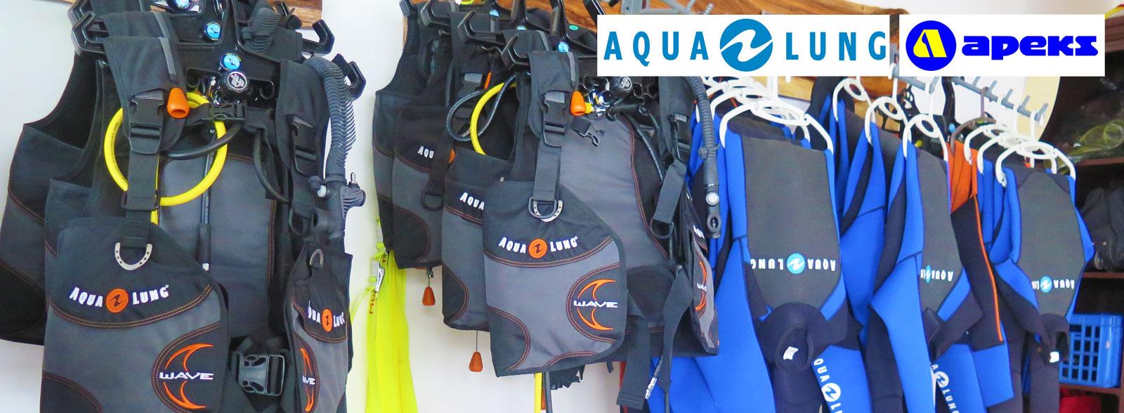 aqualung apeks scuba diving equipment