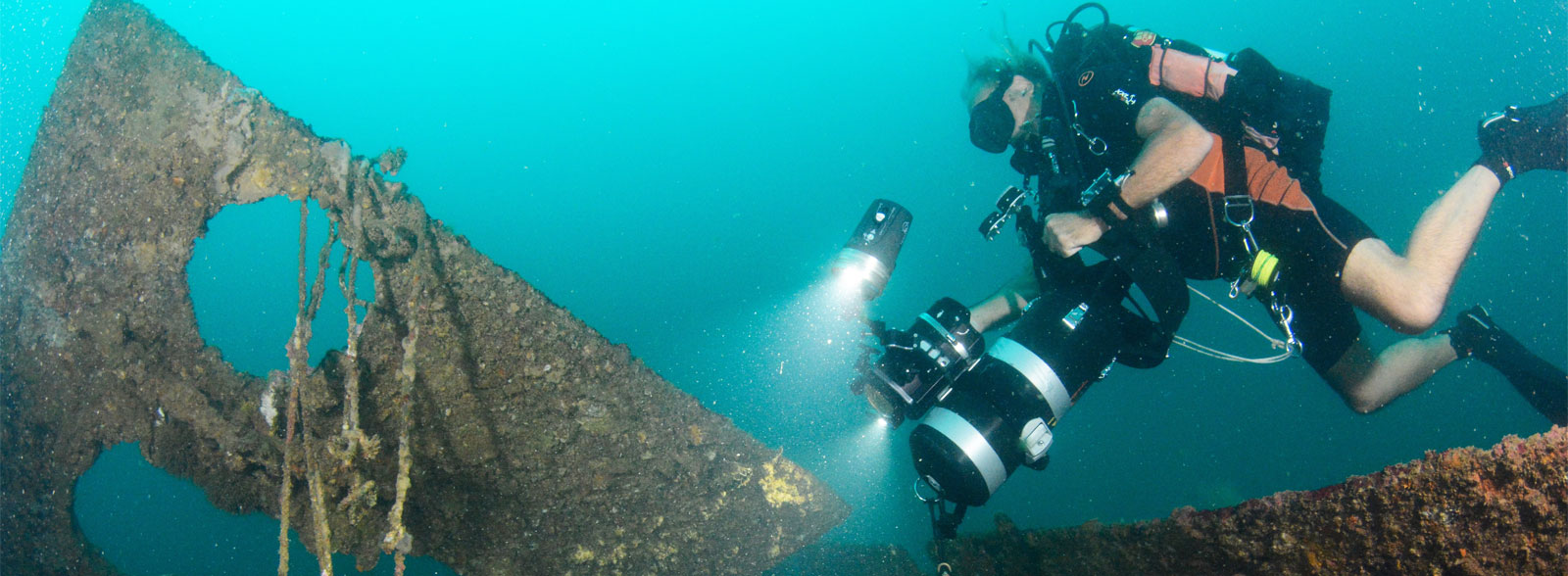 technical diving subic bay philippines